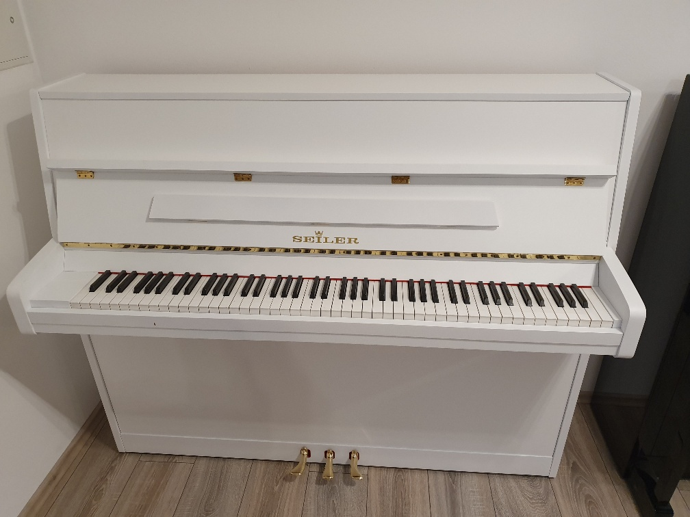 Piano Seiler 118 white